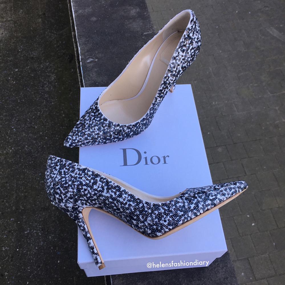 tPF Member: Helenhandbag Shoes: Dior Sequin Embellished Pumps