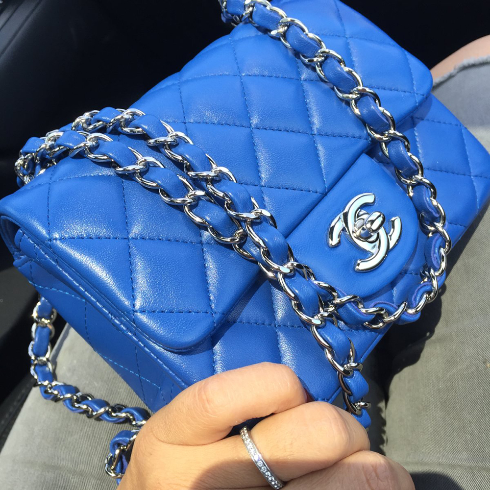 tPF Member: Jax818 Bag: Chanel Square Mini Flap Bag