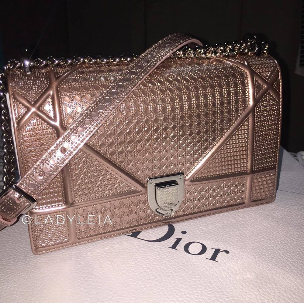 tPF Member: LadyLeia Bag: Dior Diorama Metallic  Bag