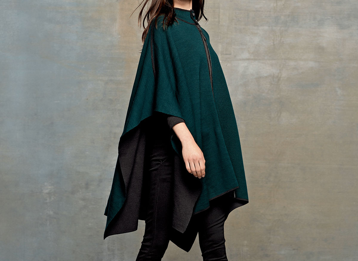 belford-long-leather-trim-stretch-wool-poncho