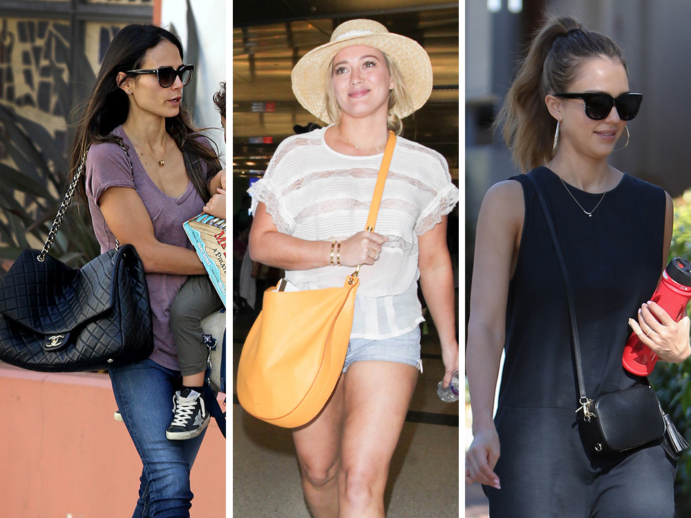 Celeb Bag Picks Run The Gamut From Oversized And Five Figure To