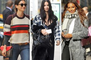 Victoria's Secret Models Descend on NYC with Bags from Céline, Louis Vuitton and Fendi