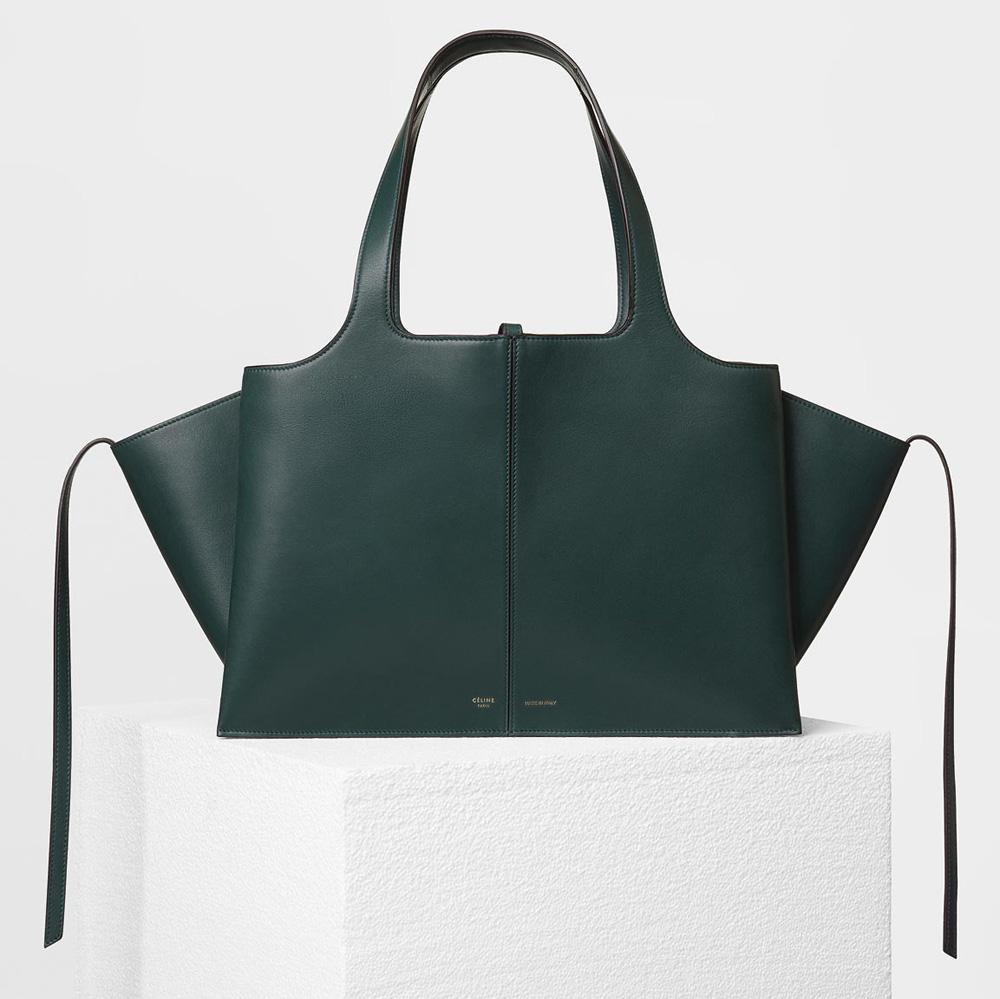 celine-medium-trifold-shoulder-bag-green-3100
