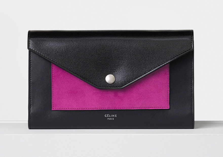 celine-pocket-large-flap-on-chain-pink