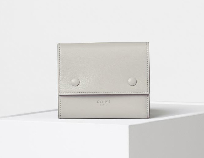 celine-small-folded-multifunction-gray