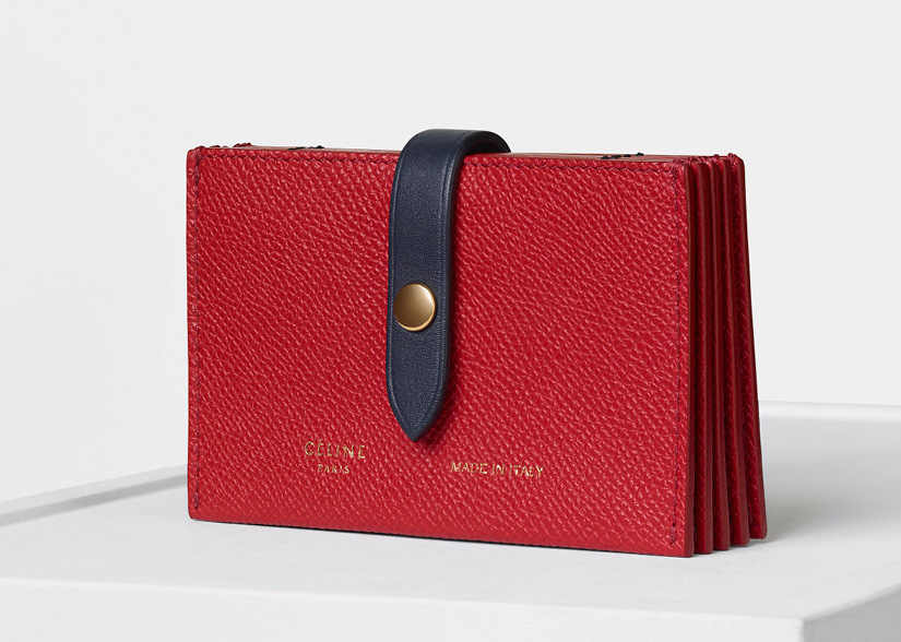 celine-strap-accordeon-card-holder-red