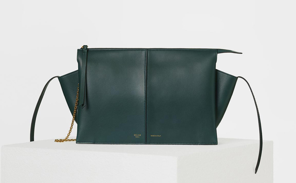 celine-trifold-clutch-on-chain-green-2200