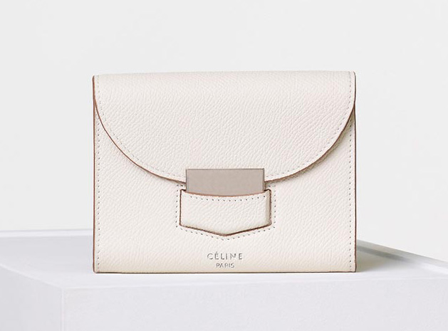 celine-trotteur-gusset-card-holder-white