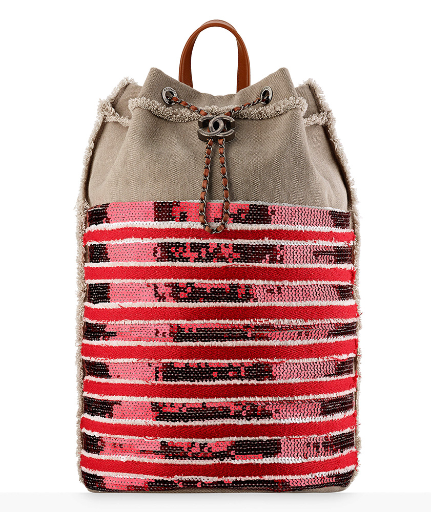 chanel-canvas-and-sequin-backpack-red-4100
