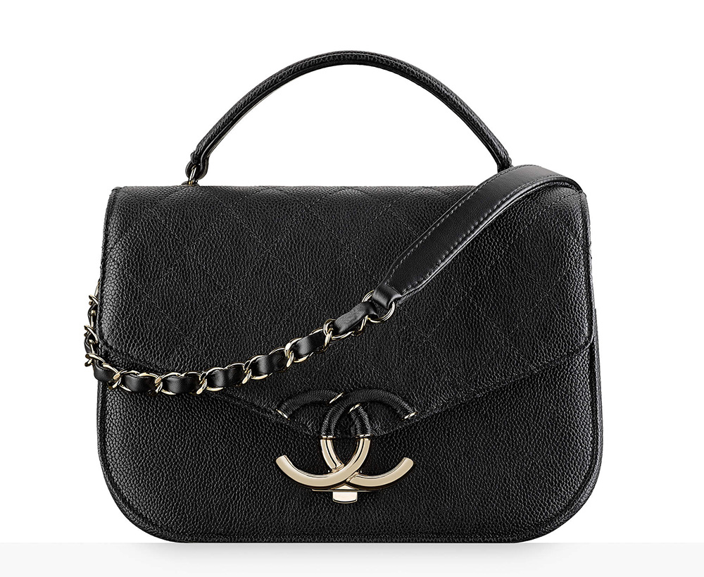 chanel-top-handle-flap-bag-black-3500
