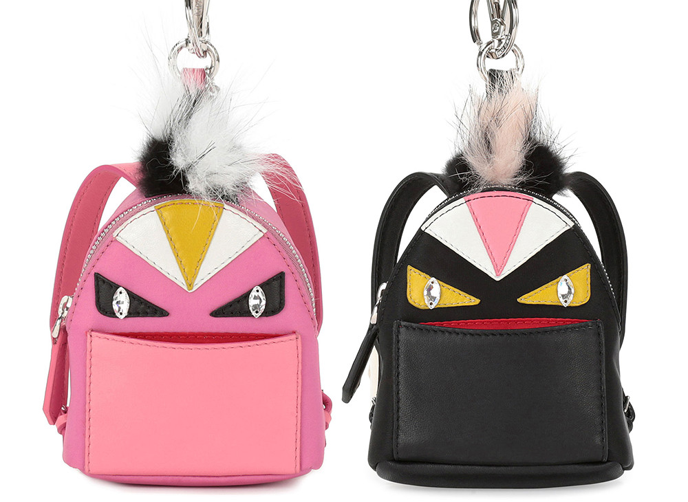 Fendi Mini Monster Backpack Charm for Handbag