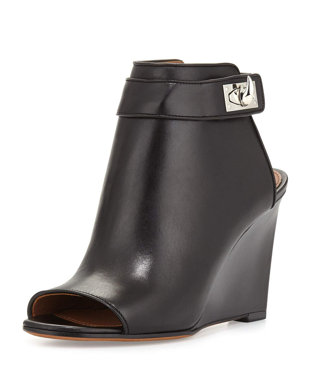 Givenchy Shark-Lock Wedge Bootie