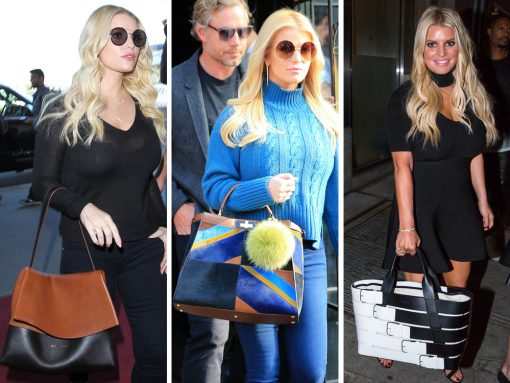 Just Can't Get Enough: Jessica Simpson Loves Her Giant Designer Bags