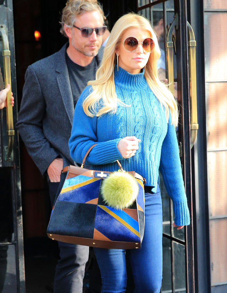 jessica-simpson-fendi-calf-hair-peekaboo-bag