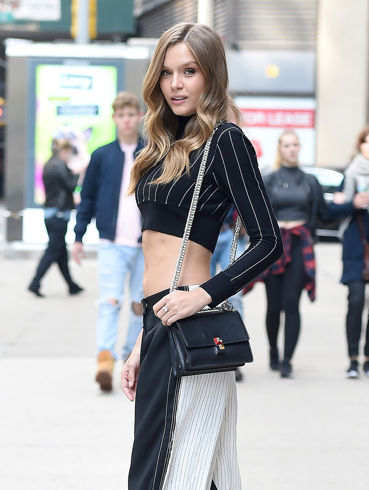 josephine-skriver-fendi-flap-bag