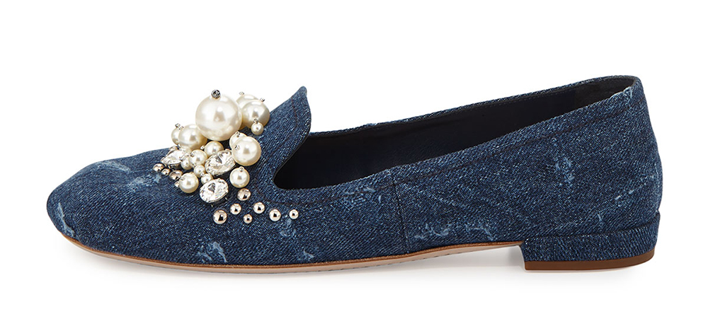 miu-miu-pearly-jeweled-denim-flat