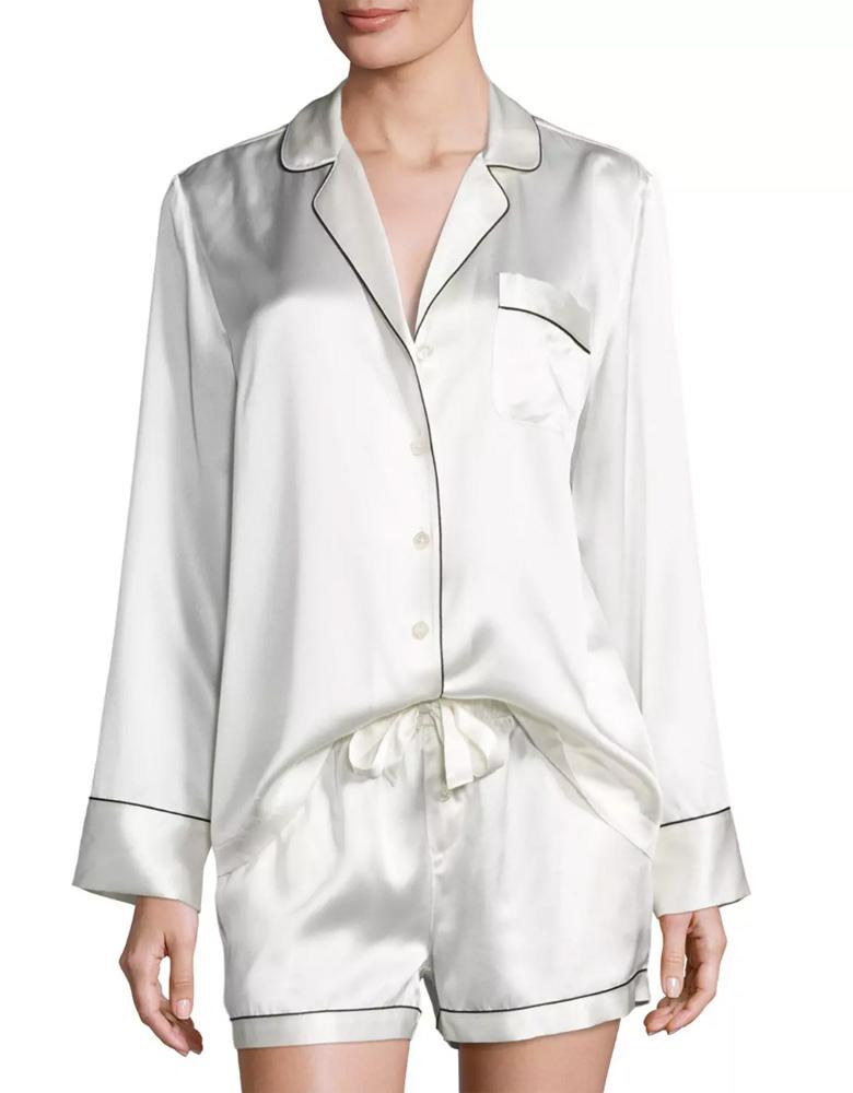 neiman-marcus-silk-shortie-pajama-set