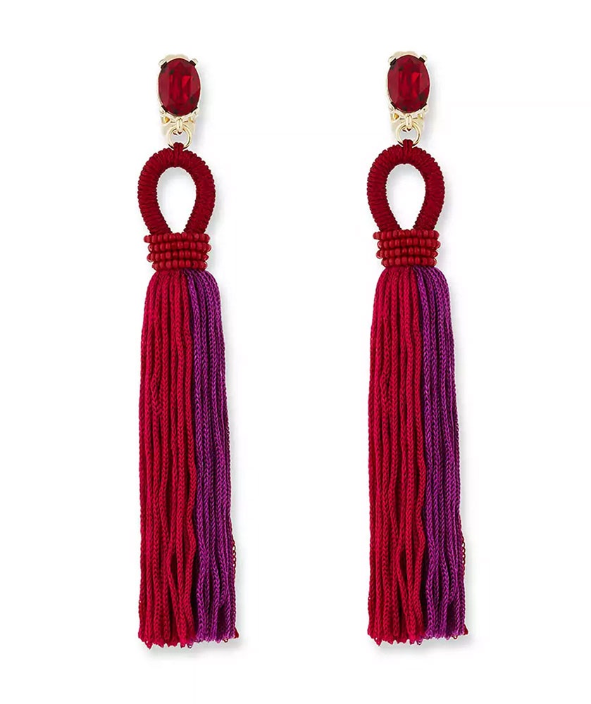 oscar-de-la-renta-tassel-earrings