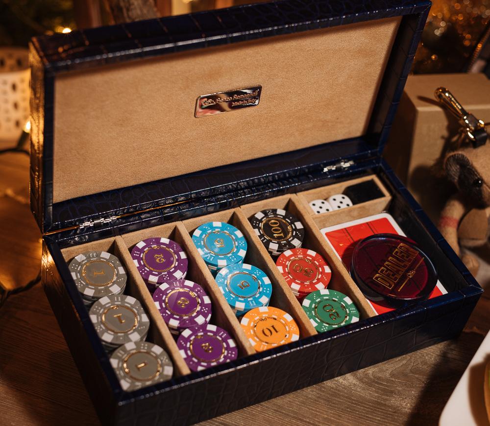 Renzo Romagnoli Poker Set