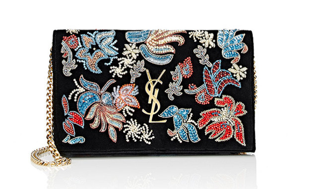 saint-laurent-embellished-monogram-chain-wallet
