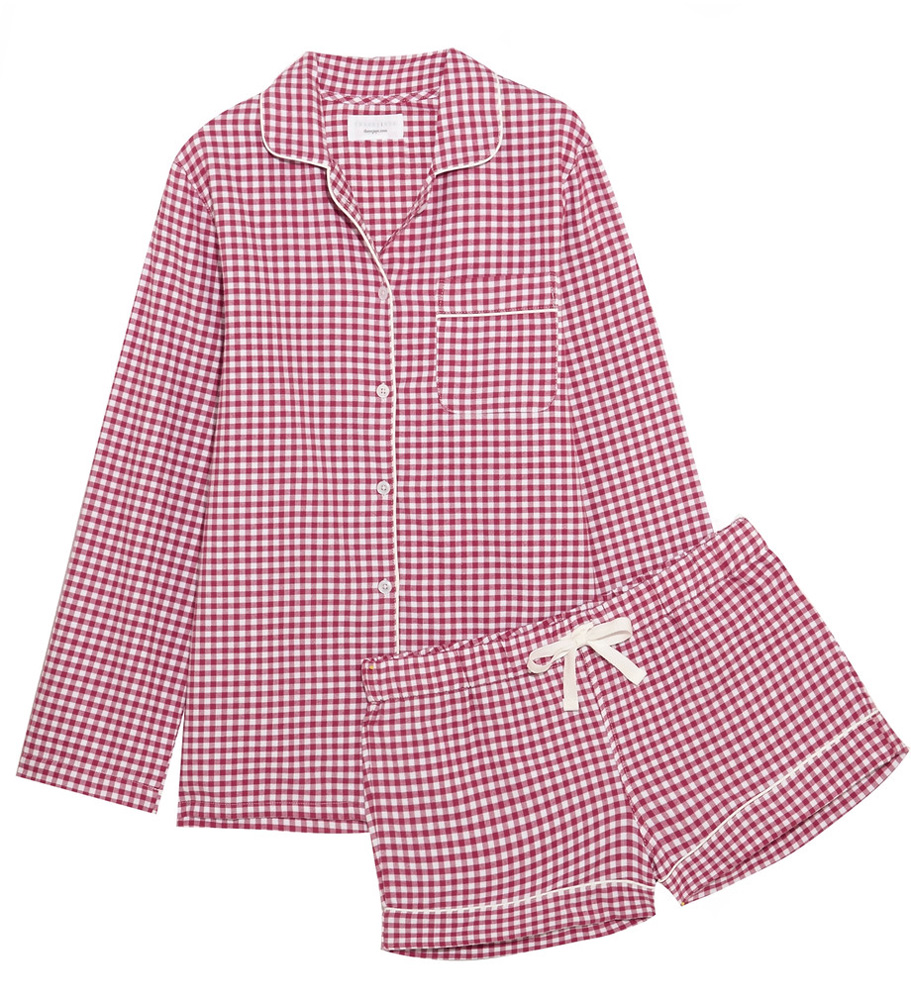 three-j-nyc-phoebe-checked-cotton-flannel-pajama-set