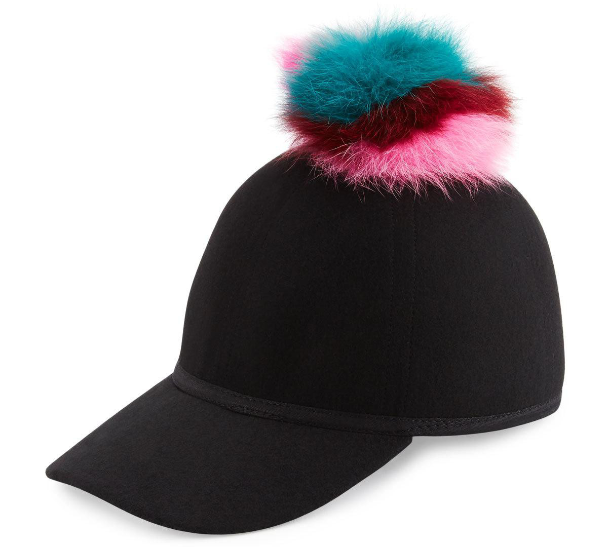 charlotte-simone-sass-single-pom-wool-felt-baseball-cap