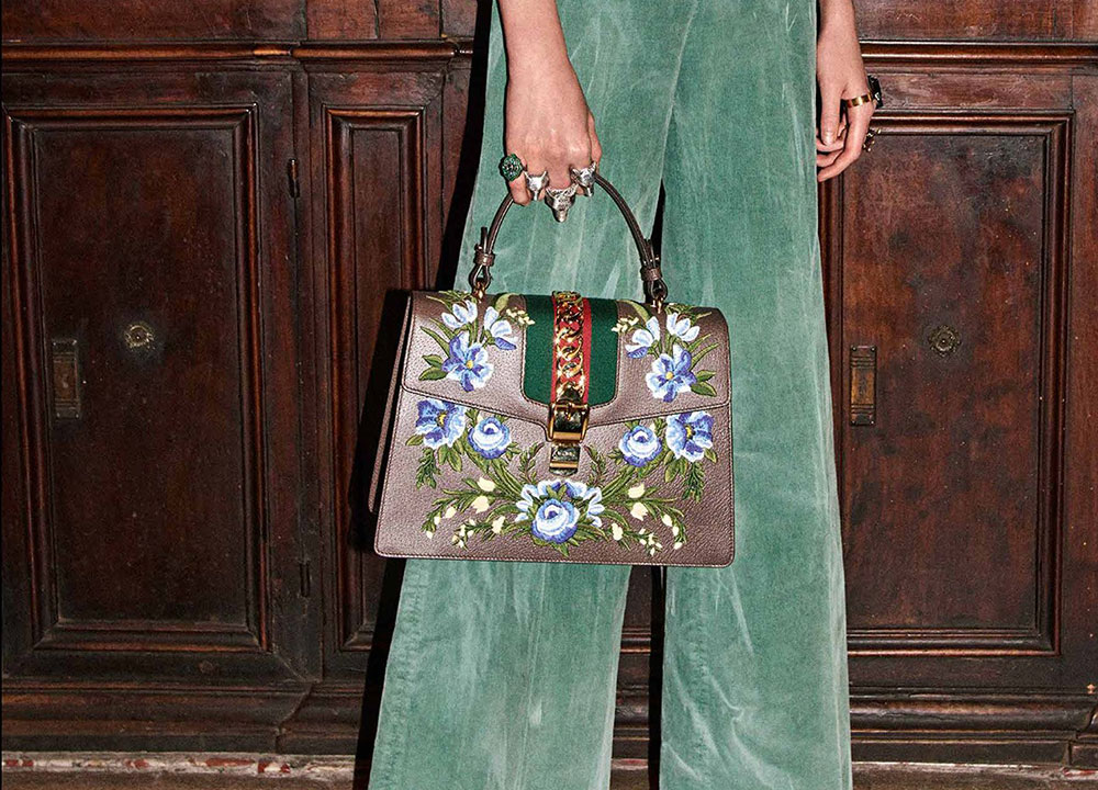 c69ff9127f0a Gucci is Back with Another Big, Embellishment-Heavy Bag Collection for  Pre-Fall