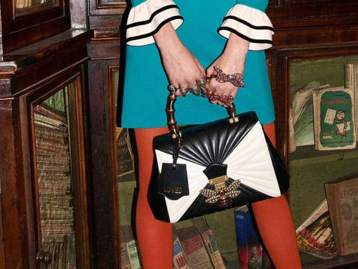 Gucci is Back with Another Big, Embellishment-Heavy Bag Collection for Pre-Fall 2017