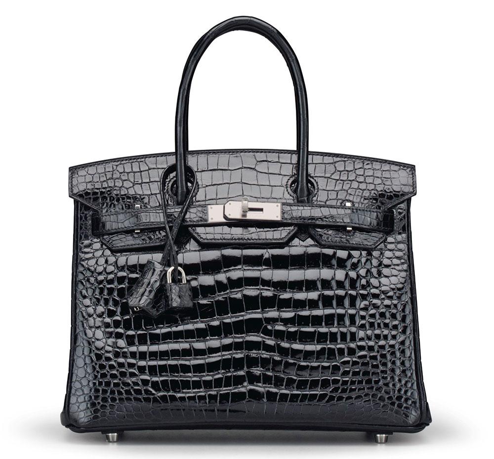 hermes-birkin-black-shiny-porosus-crocodile-30cm