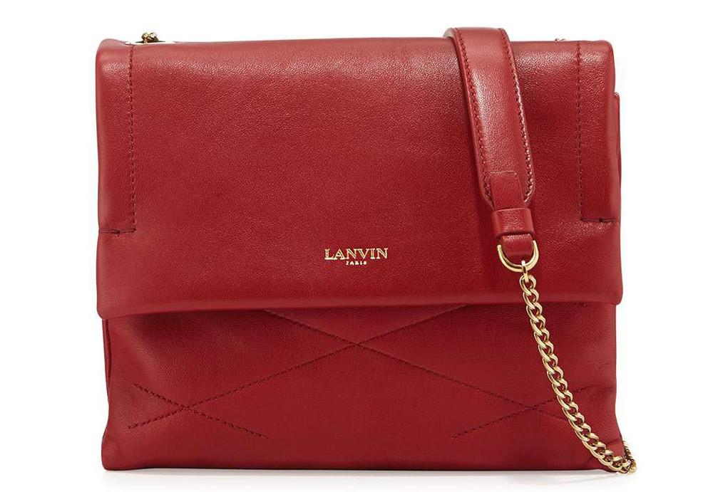 Lanvin Sugar Mini Lambskin Shoulder Bag