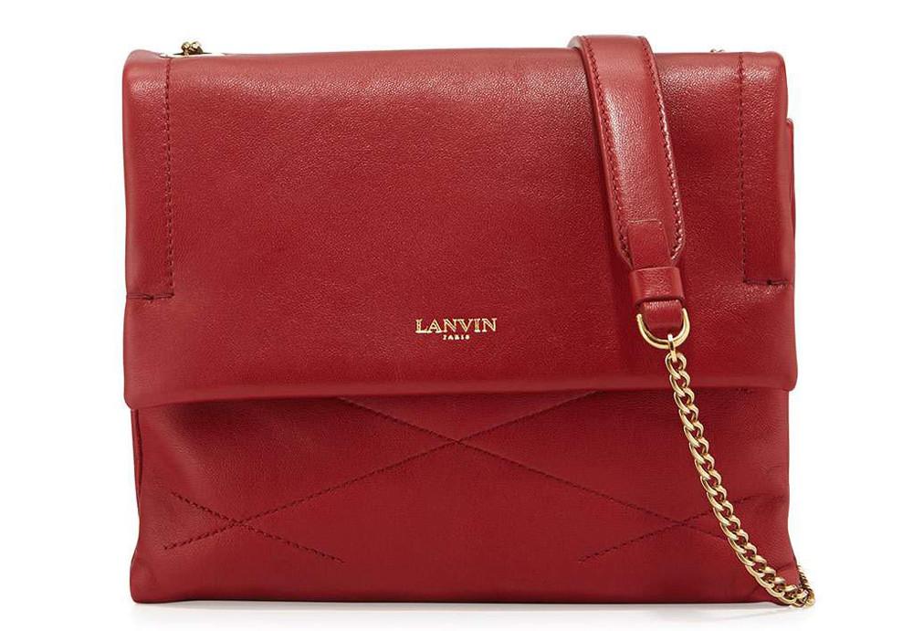 Lanvin Sugar Mini Lambskin Shoulder Bag