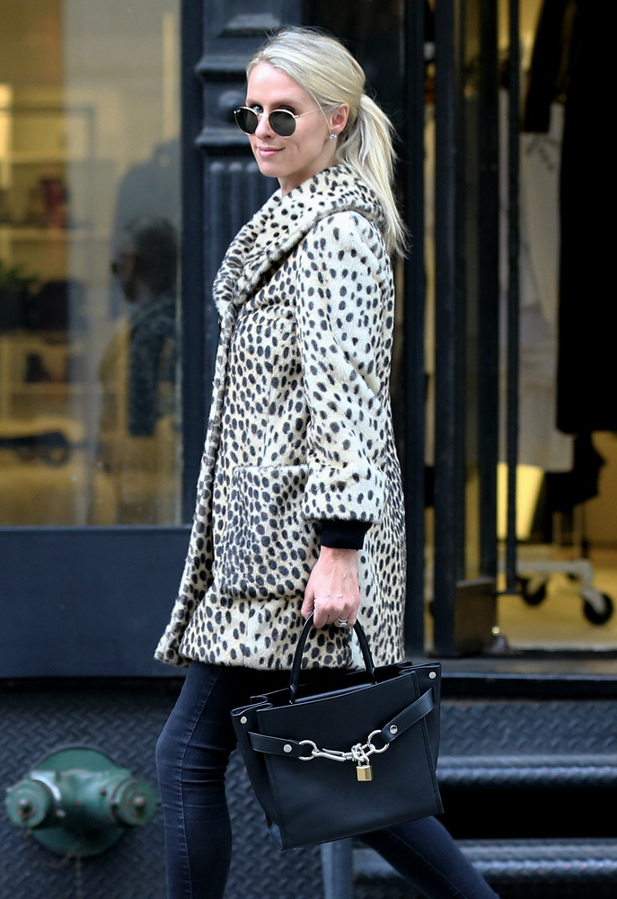 nicky-hilton-alexander-wang-attica-chain-bag