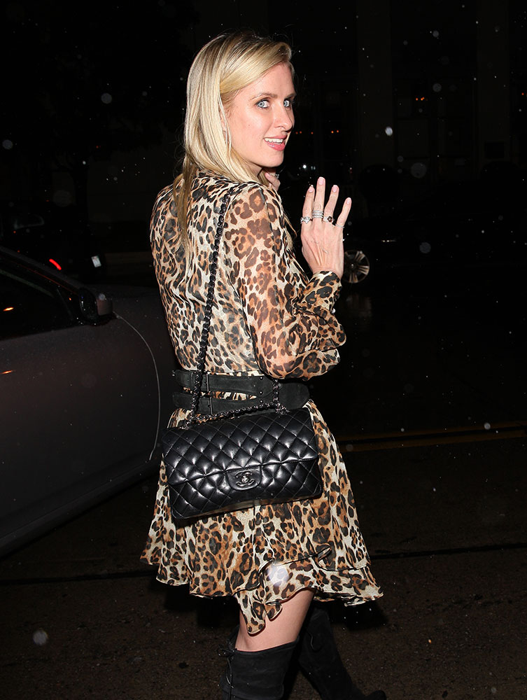 nicky-hilton-chanel-classic-flap-bag