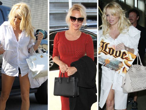 The Many Bags of Pamela Anderson