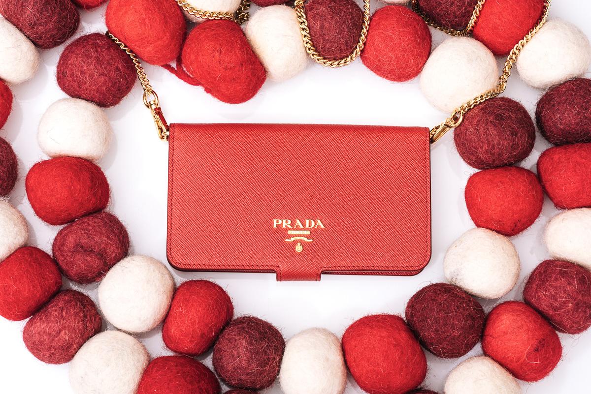 Prada Cellphone Sleeve - $480 via Prada