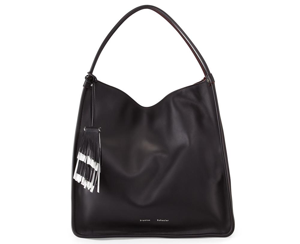 Proenza Schouler Large Soft Calfskin Tote Bag