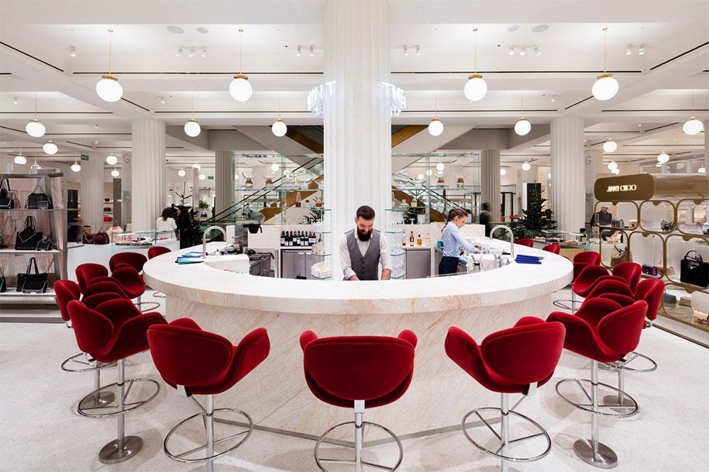 Heaven Is Real Selfridges Just Announced World S Gest Handbag Floor Complete With Tail Bar Purseblog