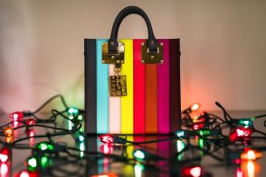 Sophie Hulme Rainbow Bag