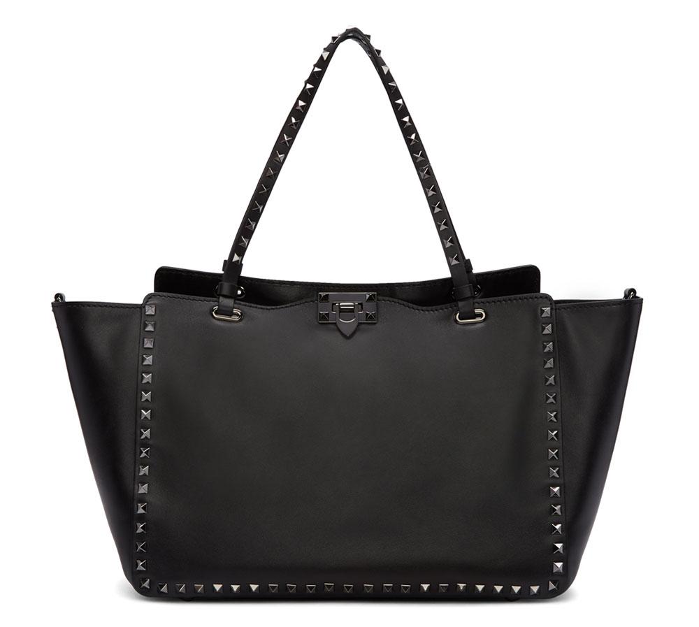 valentino-rockstud-noir-trapeze-bag
