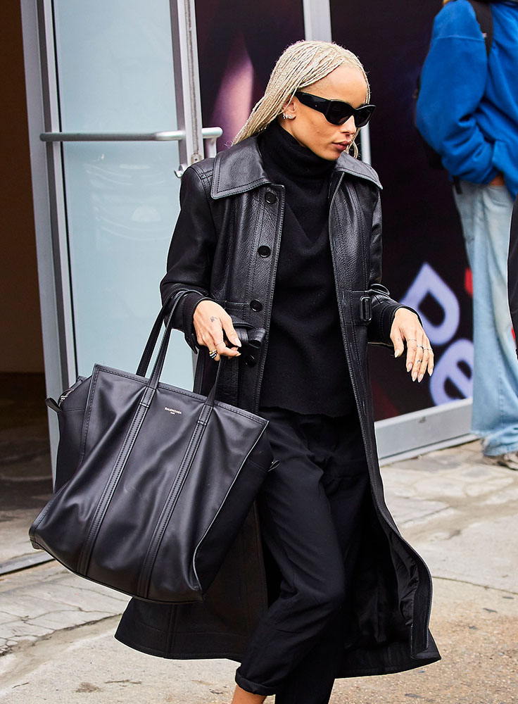 Celeb Sneakerheads Get Their Fix While Carrying Bags From