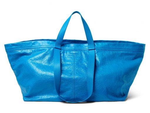 For Its Next Trick, Balenciaga Has Made an IKEA Shopping Bag, but Fashion