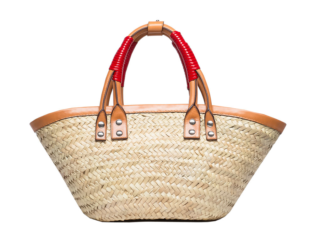 Every Luxury Brand Sell You Luxe Straw Basket - Designer ...
