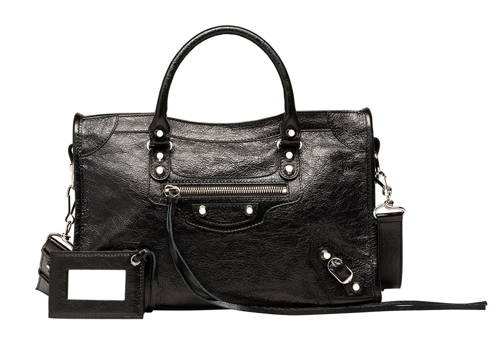 7c1b220429ad Balenciaga Introduces Two New City Bag Sizes  Check Out Our ...
