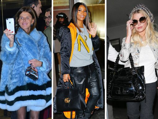 Today's Celeb Bag Picks Run the Gamut from Micro Fendis to (Almost) Vintage Valentinos