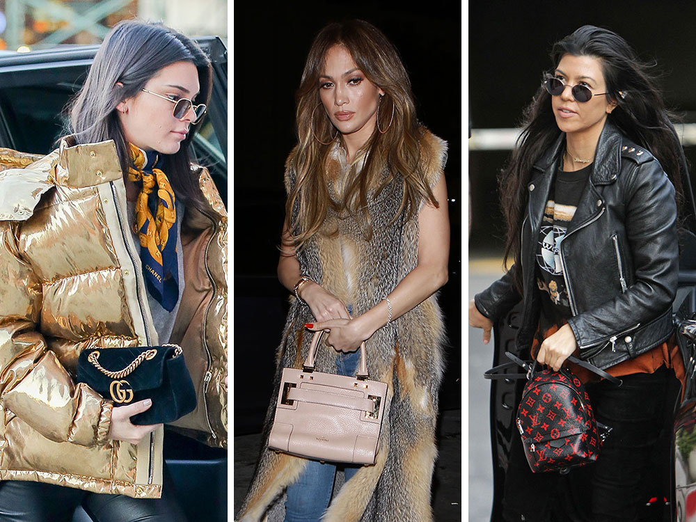 7a1dc997445 Celebs Shape Up and Sup with Bags from Versace, Fendi, Gucci and Valentino