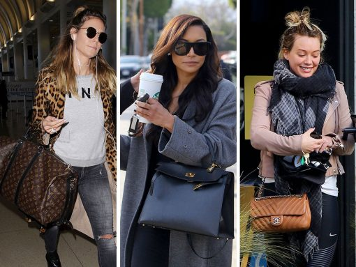 This Week, Celebrities Don't Stray Far from Their Favorite Versace, Saint Laurent and Chanel Bags