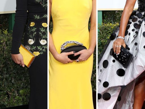 The 21 Best Red Carpet Bags from the 2017 Golden Globe Awards