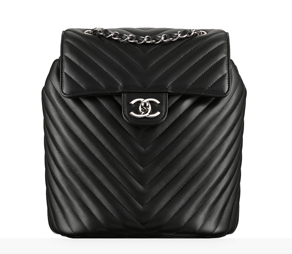 Chanel Backpack Black 3400