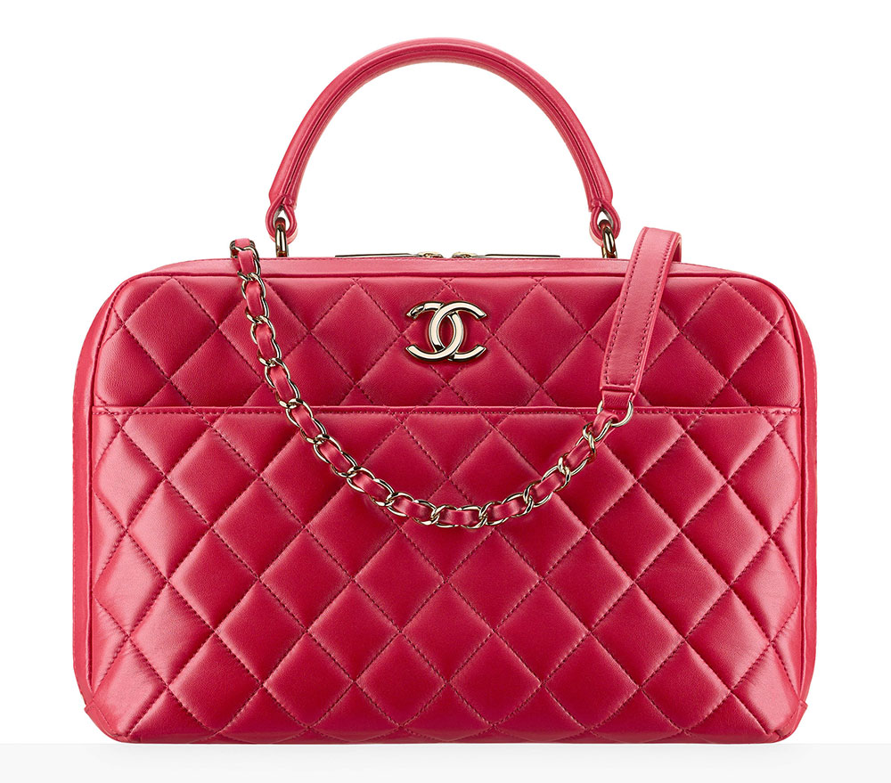 Chanel Bowling Bag Red 5700