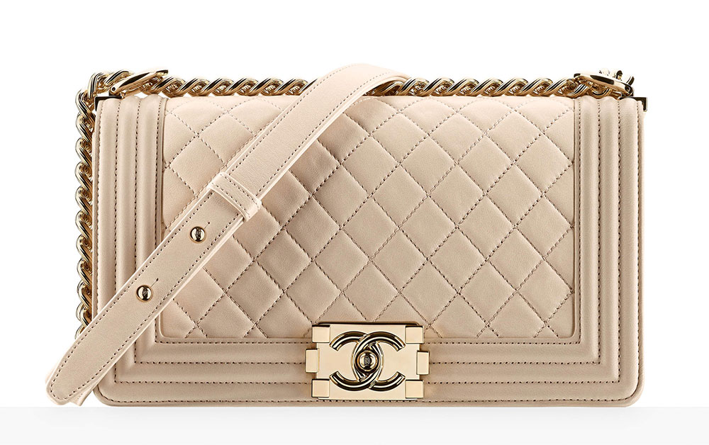 Chanel Boy Bag Beige 4700 2